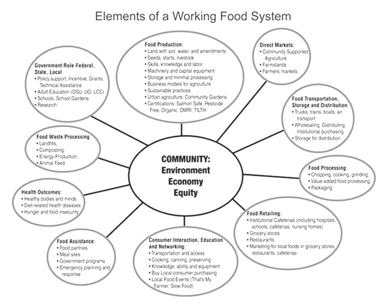 Food System Schematic