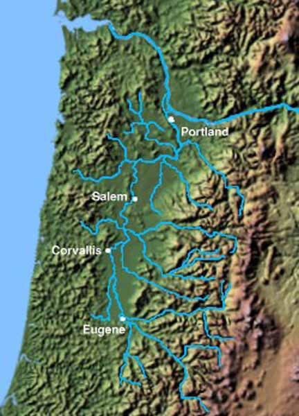Willamette River Watershed